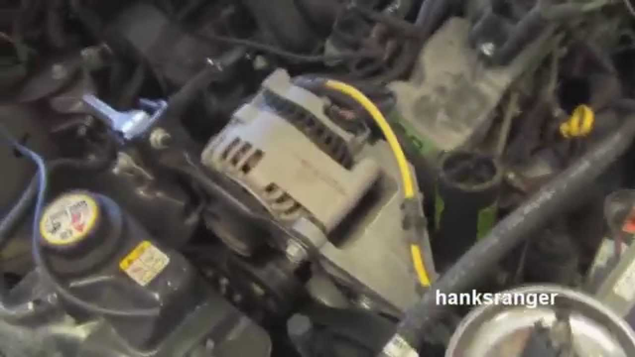 Replace Ford Taurus Spark Plugs and Wires 3.0 OHV Vulcan - YouTube | Ford Taurus Ohv Engine Diagram |  | YouTube