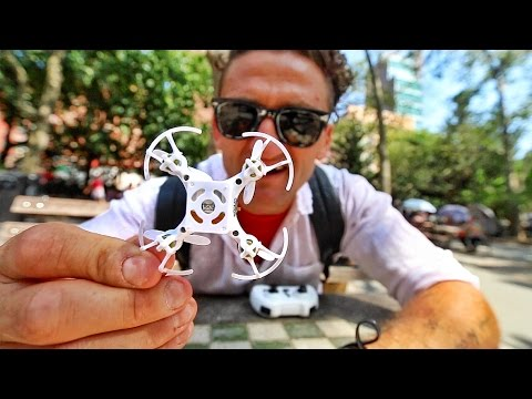 Thumbnail: WORLD'S SMALLEST DRONE
