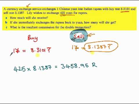 IB - Currency Conversion Buy/Sell