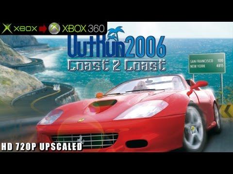 OutRun 2006: Coast 2 Coast - Gameplay Xbox HD 720P (Xbox to