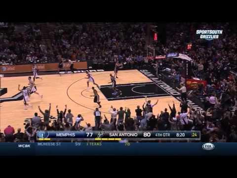 Memphis Grizzlies vs. San Antonio Spurs Full Highlights 12.17.2014
