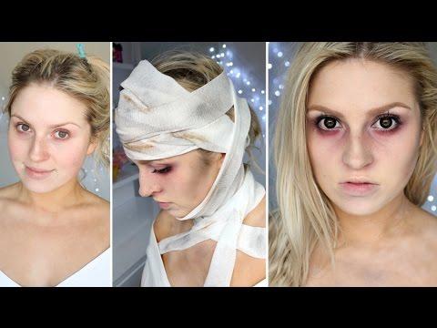 Easy Halloween Makeup ♡ Haunted Asylum Patient, Dead Person ...