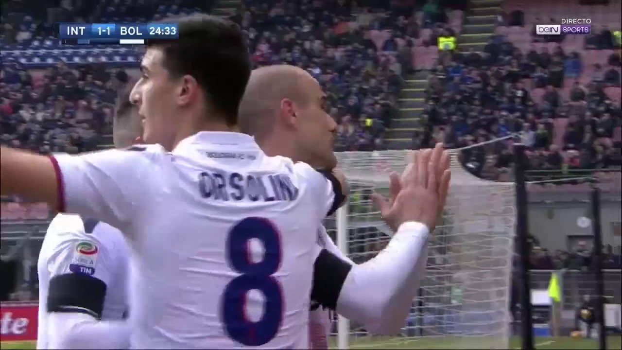 Inter- Bologna 2-1 Sintesi 11/2/2018 - YouTube