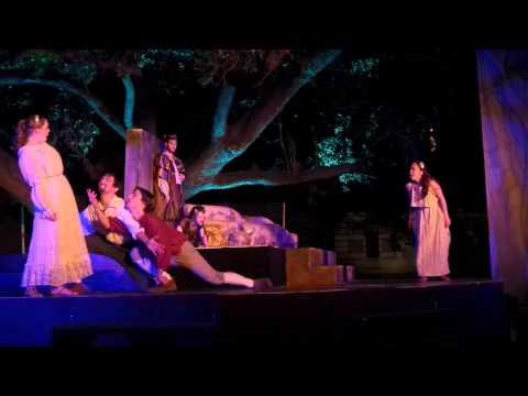 """A Midsummer Night's Dream"" - Hermia vs Helena Fight Scene"