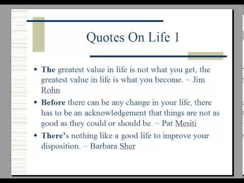 Self Help Quotes New Quotes On Lifequotes For Self Help  Youtube