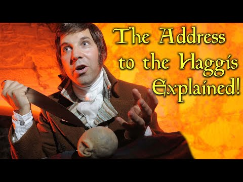 Robert Burns 'The Address To The Haggis' Explained