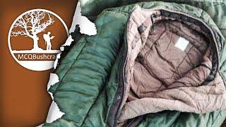 My Winter Sleep System: -25c Dutch Modular Sleeping Bag, Bivi Bag & Sleep Mat
