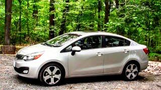 2012 Kia Rio Sedan Road Test Review by Drivin Ivan Katz