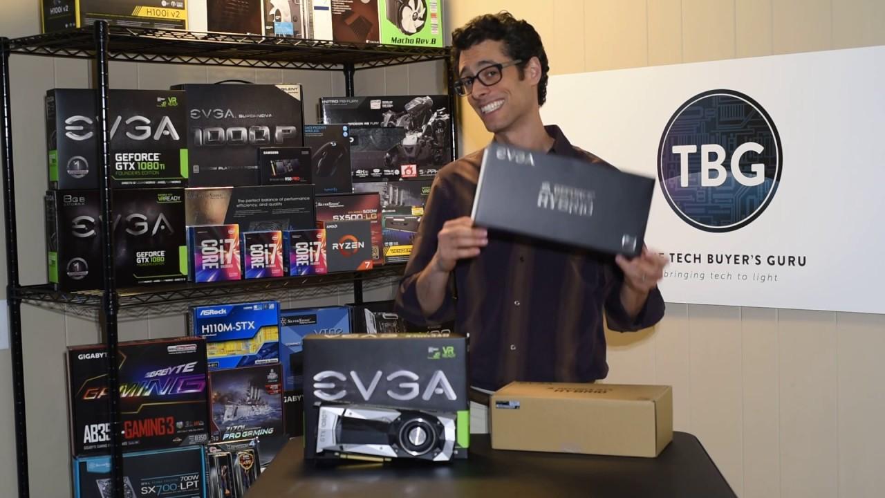 EVGA GeForce GTX 1080 Ti Hybrid Cooler Unboxing
