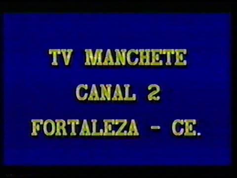 TV Manchete Ceará - Problemas técnicos (AGO/1990)