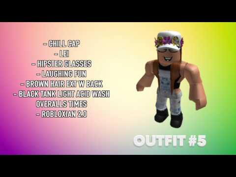 12 AWESOME ROBLOX OUTFITS (2017)