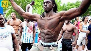 ストリート最狂の男。激しい筋肉の鍛えかた【筋トレ】 thumbnail