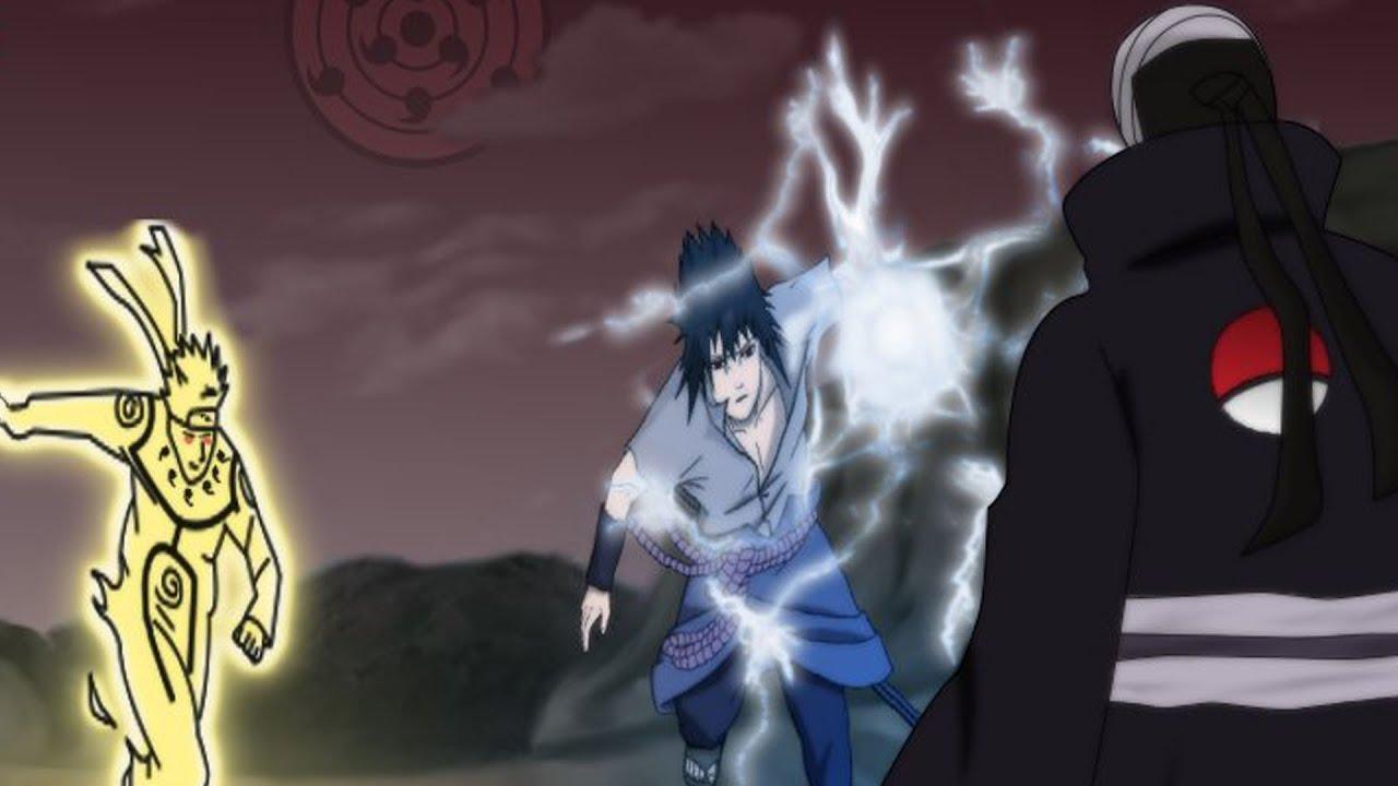 uchiha madara vs sasuke - photo #38