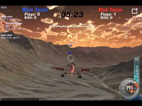 3D Online Uçak Savaşı - 3D Uçak Oyunları