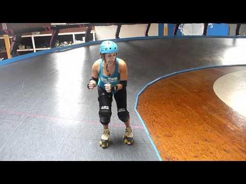 Roller Derby Technique: Inside Hits w/the San Diego Derby Dolls
