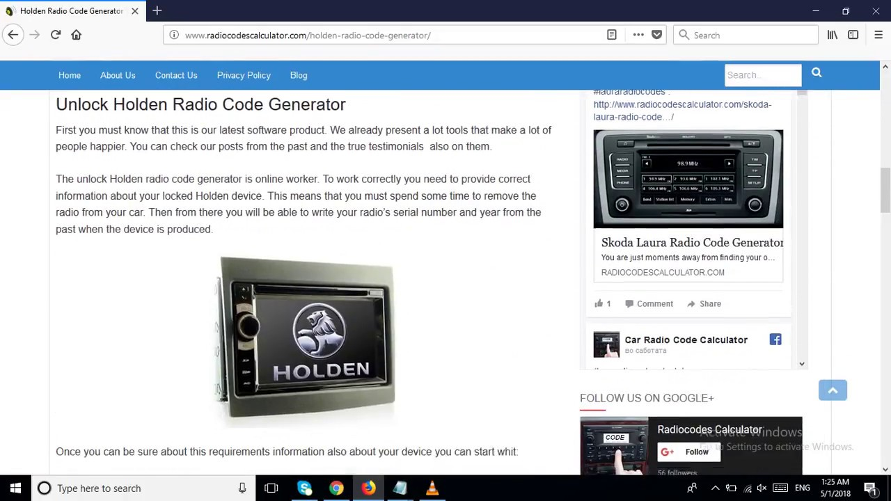 Holden Radio Code Generator That Works Online Free Youtube