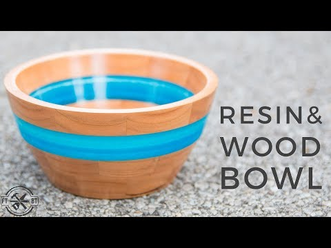 How To Make a Resin and Wood Bowl