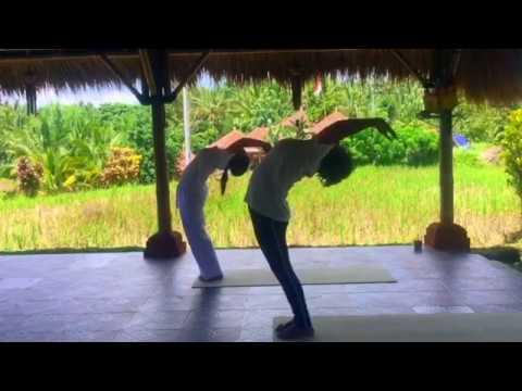 Balinese Traditional Watukaru Yoga--Sun Salutation