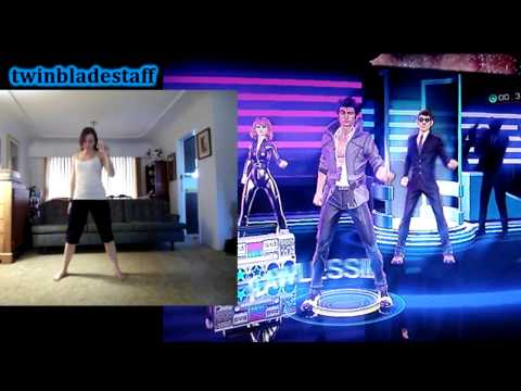 DANCE CENTRAL 3 Better Off Alone Easy Gameplay Xbox 360 Kine