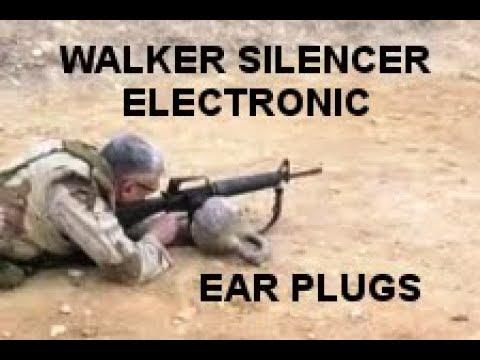 WALKER SILENCER ELECTRONIC EAR PLUGS