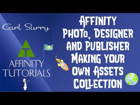 Affinity Software - Making Your Own Assets Collection thumbnail