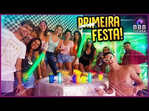 FESTA NA CASA!! - BBB DA CASA [ REZENDE EVIL ]