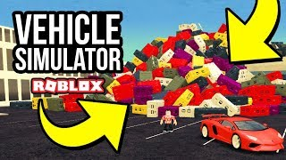SO MANY CRATE DROPS - Roblox Vehicle Simulator #24