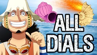 ALL DIALS In Skypiea - One Piece Discussion