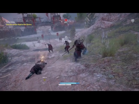 Assassin's creed origins with the loud portuguese family