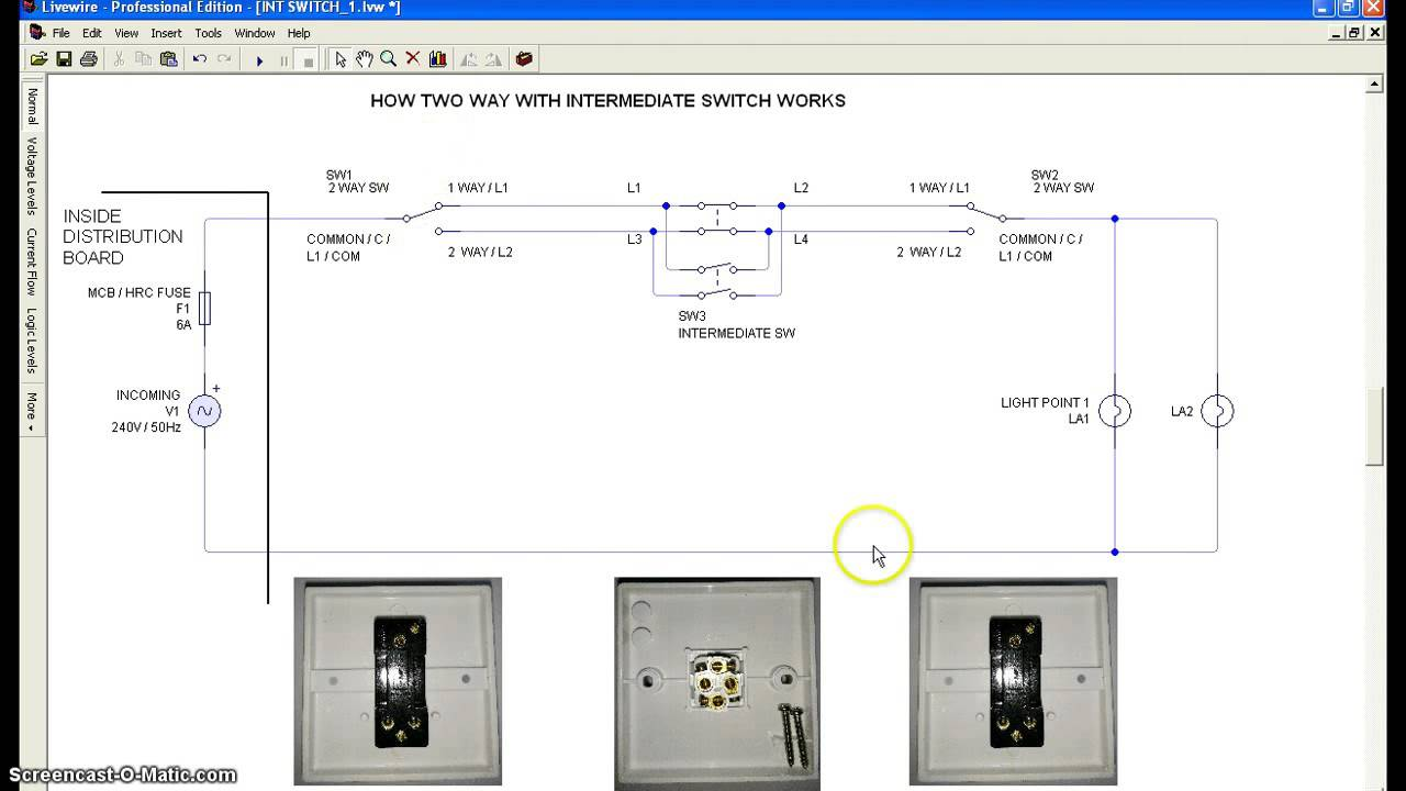 Luxury Two Way Switch Working Mold - Electrical and Wiring Diagram ...