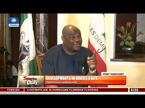Gov. Wike Explains The Choice Of Rivers State For PDP National Convention Pt.1 |Sunrise Daily|