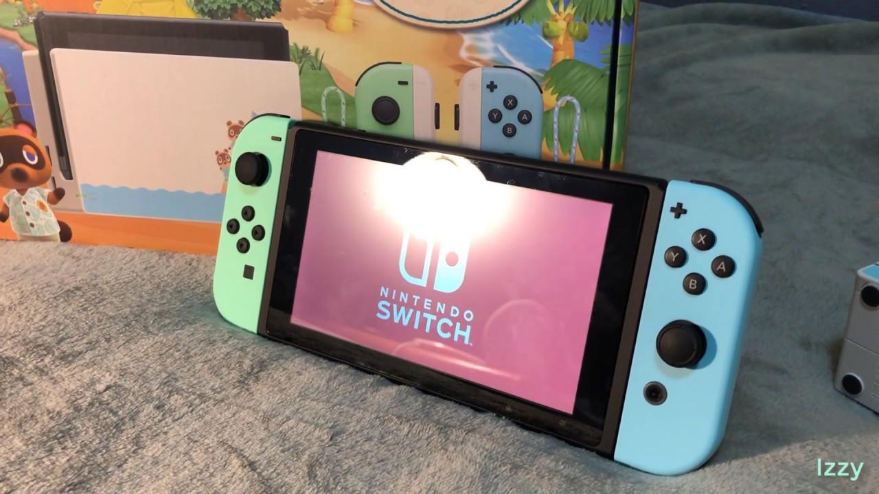 Nintendo Switch Animal Crossing: New Horizons Edition ...