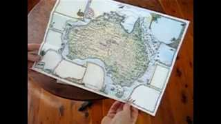 Australia Mail-It Map By Journey Jottings.avi