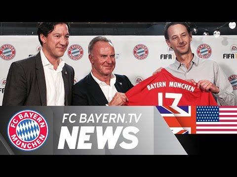 FC Bayern and EA Sports Partnership, Paulaner visit and Audi-Night | #AudiFCBTour