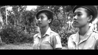 palagan ambarawa there i stand to be the guard of my motherland sma negeri 1 pare
