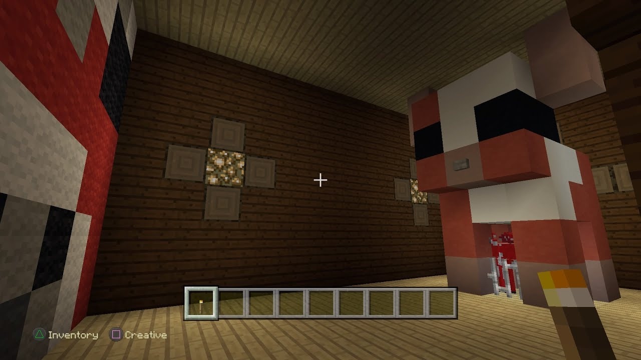 Minecraft PS4 - 3 Types of Hidden Rooms in Woodland Mansions [0234 ...