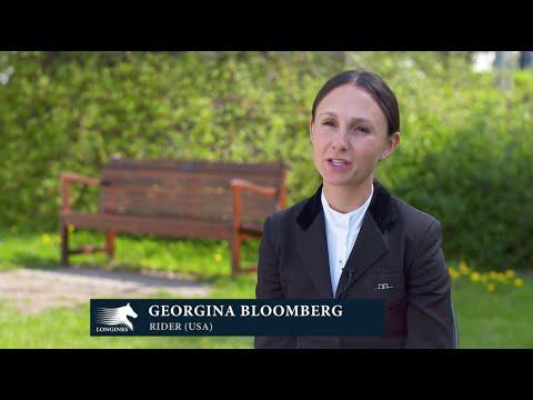 Catching up with... Georgina Bloomberg at LGCT Hamburg