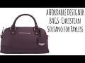 How to get affordable designer handbags/purses: Payless haul