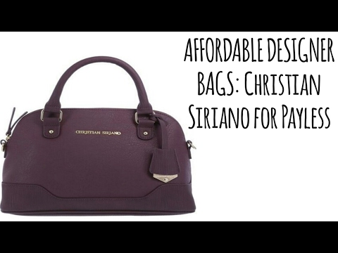 How to get affordable designer handbags purses  Payless haul - YouTube aa7118b39