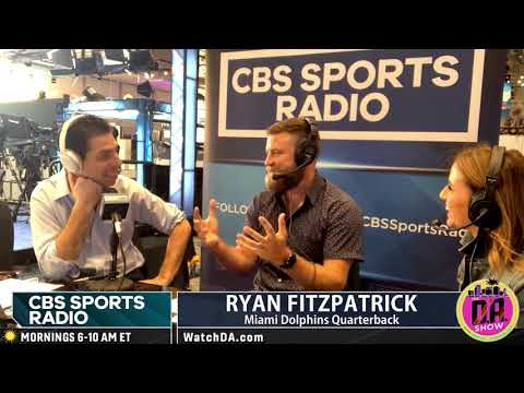 Ryan Fitzpatrick Discusses 7 Kids And Being A Gunslinger Dad I D.A. On CBS