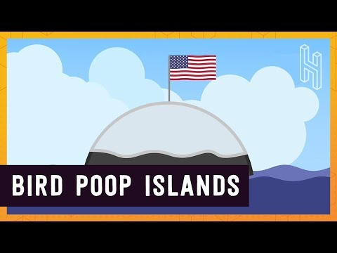 Why You Can Claim Islands for the US if They Have Bird Poop