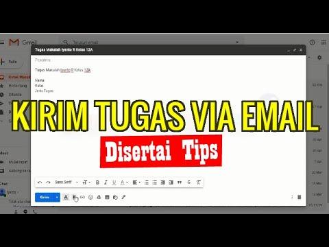 Cara Kirim File Scan dengan Gmail.