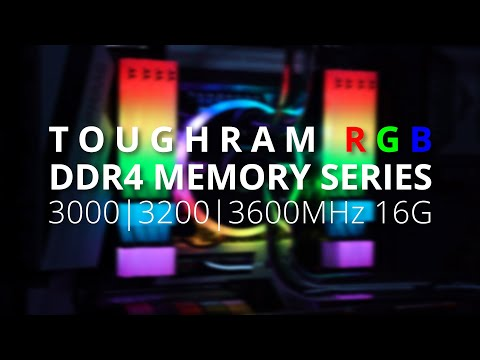Thermaltake TOUGHRAM RGB DDR4 Memory Series - Illuminate and Impress
