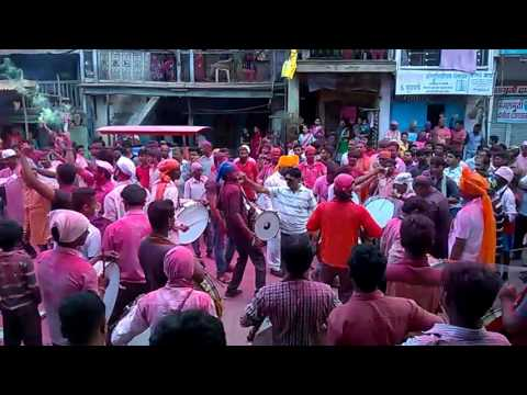 Ganpati visarjan virbhagatsing shala nandurbar