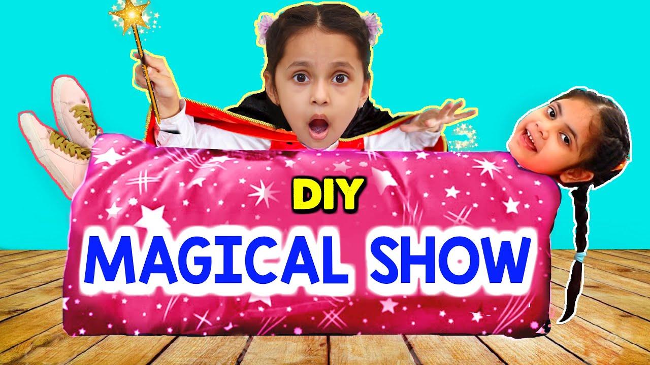 Kids DIY Magical Show - Magic Tricks at Home | ToyStars