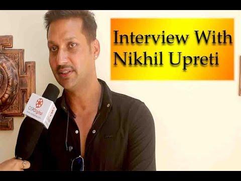 "Interview With Nikhil Upreti - Announcement Of Nepali Movie "" Commitment     New Nepali Movie 2017"