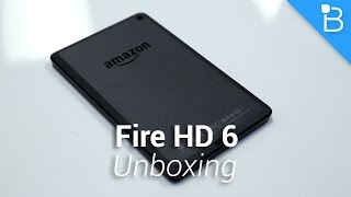 Amazon Fire HD 6 Unboxing