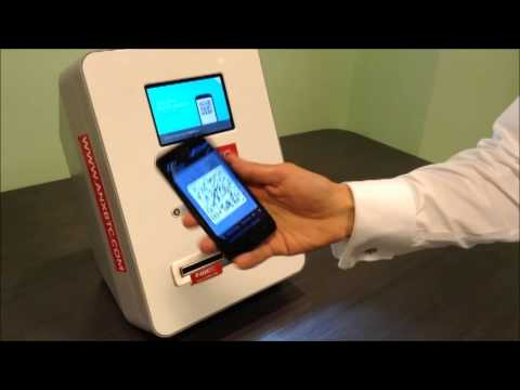 How a Bitcoin ATM works: Depositing cash to bitcoin in less than one minute