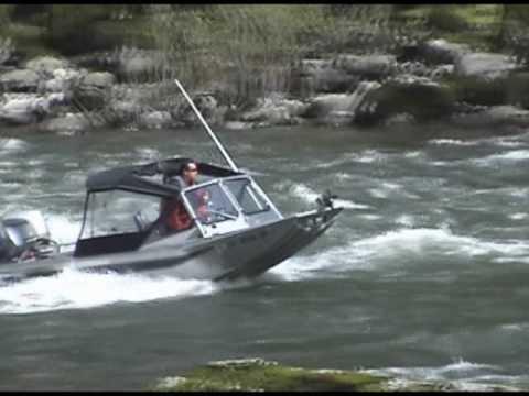 Wooldridge Alaskan outboard jet boat