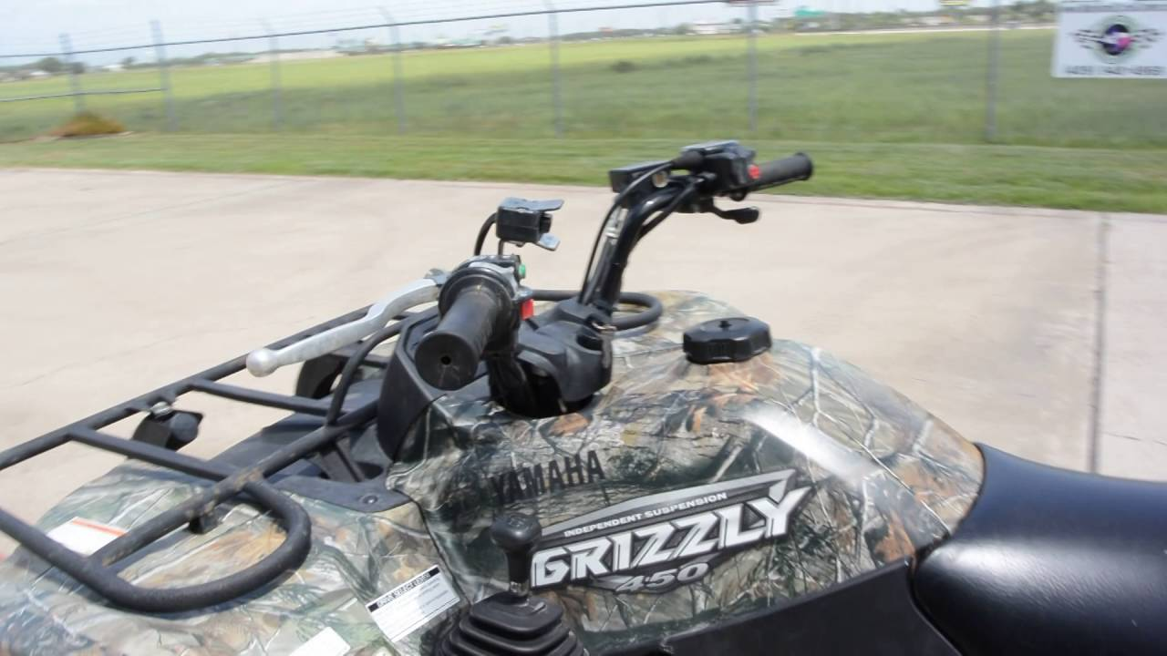 For sale 3 999 yamaha grizzly 450 camo 4x4 youtube for Yamaha grizzly 450 for sale